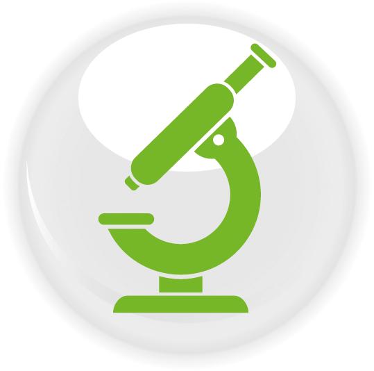 Symbol eines Mikroskops