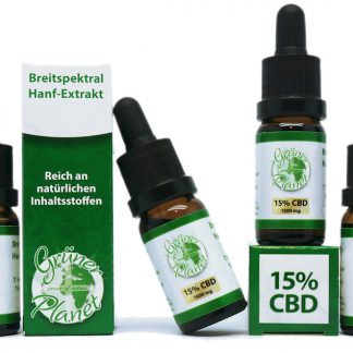 Hanfextrakte (Cannabis-Öl mit Cannabinoiden)