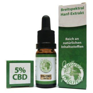 Grüner Planet CBD Öl 5%